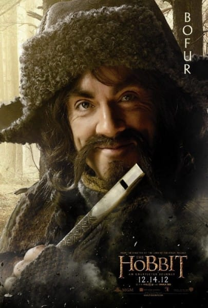 The Hobbit Bofur Poster