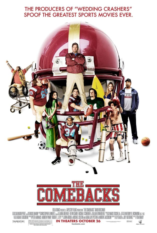 The Comebacks Poster