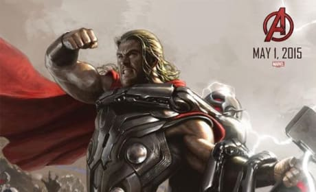 Avengers Age of Ultron Thor Concept Art Poster