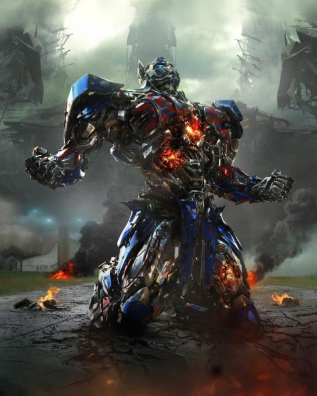 Transformers Age of Extinction Optimus Prime Still