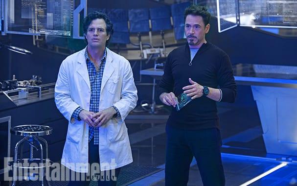 Avengers Age of Ultron Robert Downey Jr. Mark Ruffalo