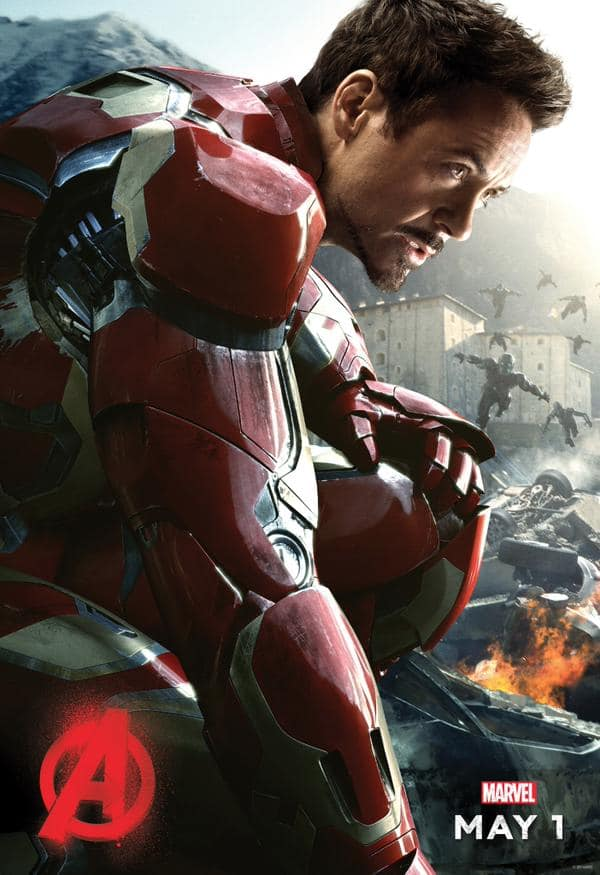 Avengers Age of Ultron Iron Man Poster