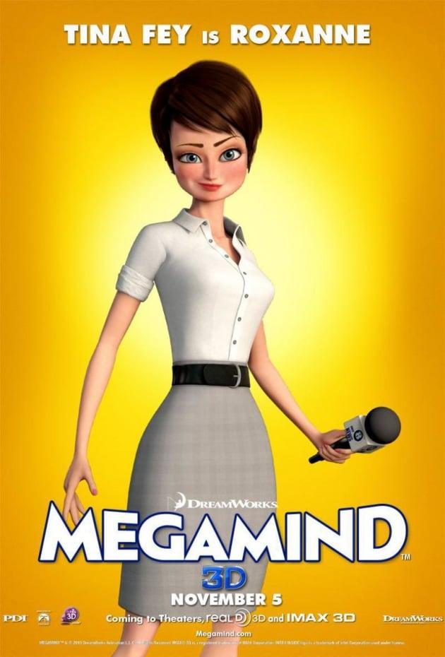 Megamind Roxanne Poster