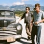 On the Road Stars Garrett Hedlund and Sam Riley