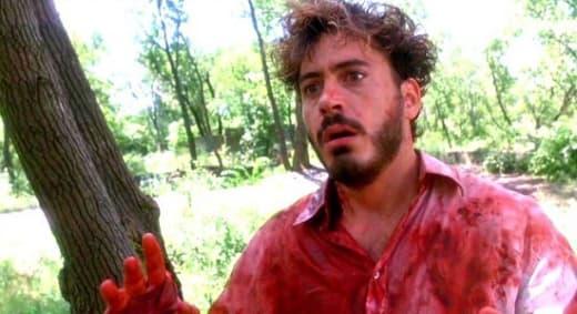 Robert Downey Jr in Natural Born Killers