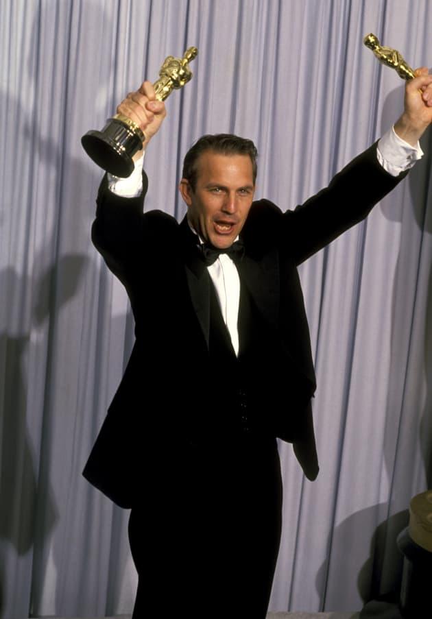 Kevin Costner Wins Oscars