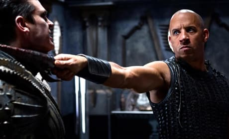 Riddick Gets a New Still: Vin Diesel's Got you by the Neck
