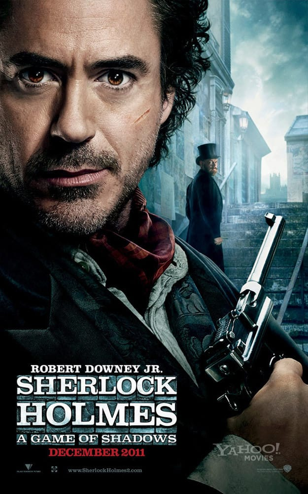 Sherlock Holmes: A Game of Shadows First Look Poster