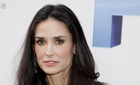 Demi Moore Leaves Lovelace