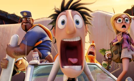 Cloudy with a Chance of Meatballs 2 Photos: Flint Lockwood Takes the Plunge