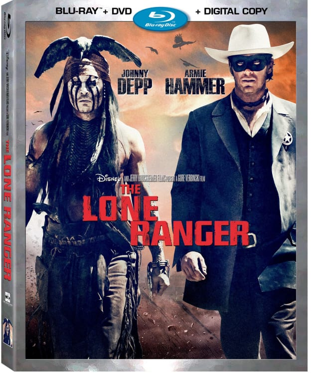 The Lone Ranger DVD