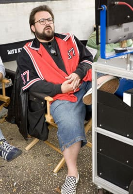 Kevin Smith on Set