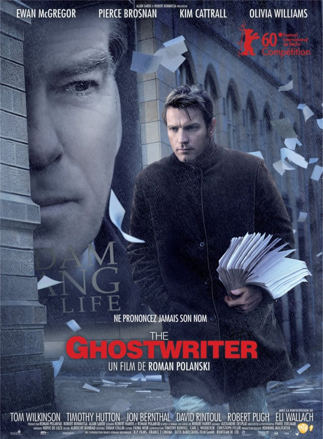 The Ghost Writer International Poster