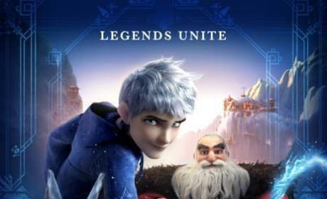 Rise of the Guardians Poster: Legends Unite