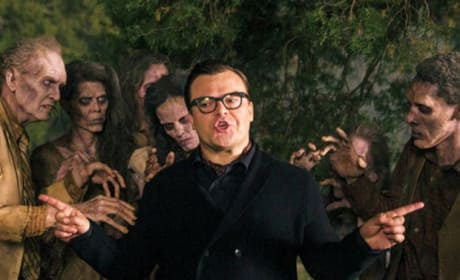 Goosebumps First Photos: Jack Black is R.L. Stine