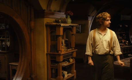 Maretin Freeman is Bilbo in The Hobbit