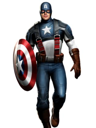 Captain America Costume Art