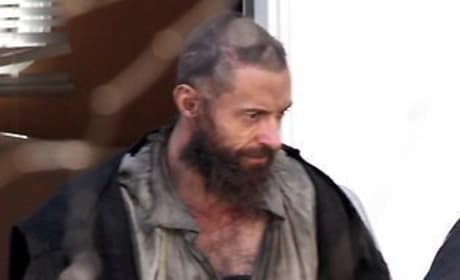 Hugh Jackman in Les Miserables