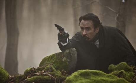 John Cusack is Edgar Allen Poe in The Raven