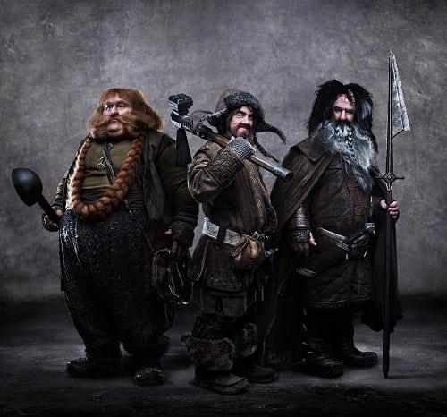 Warrior Dwarfs from The Hobbit