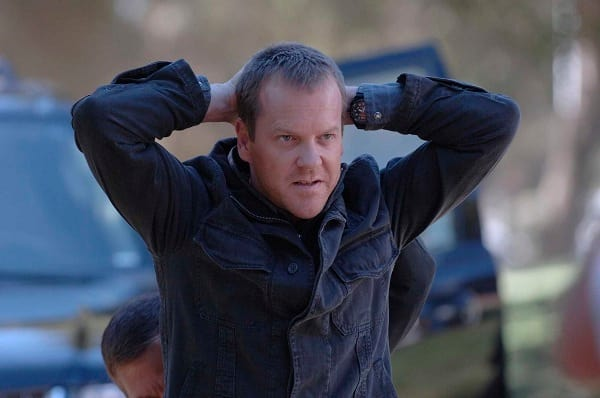 Kiefer Sutherland on 24