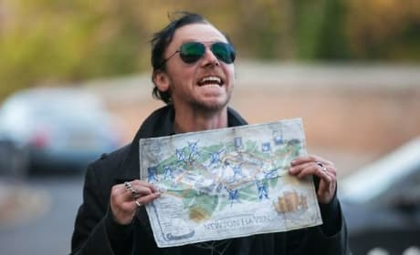 Simon Pegg Stars The World's End