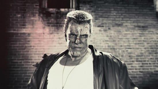 Mickey Rourke in Sin City