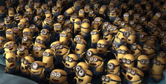 Behold, the Minions!