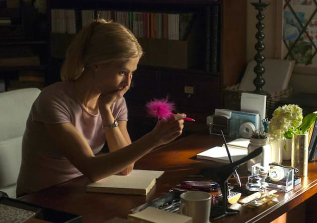 Rosamund Pike Is Gone Girl