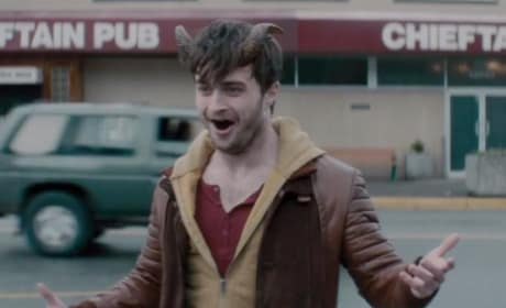 Daniel Radcliffe Stars In Horns