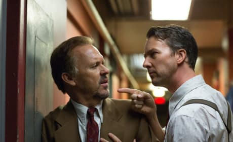 Birdman Michael Keaton and Edward Norton