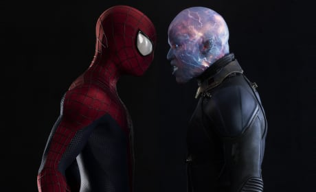 The Amazing Spider-Man 2 Electro and Spider-Man
