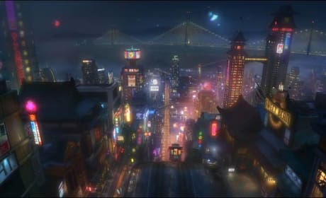 Big Hero 6 Footage Previews San Fransokyo