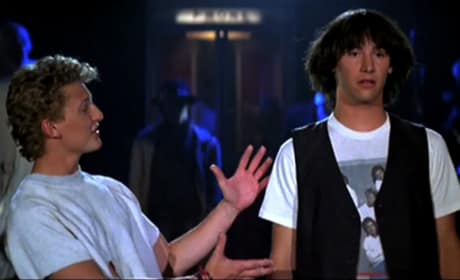 Bill & Ted's Excellent Adventure Keanu Reeves Alex Winter