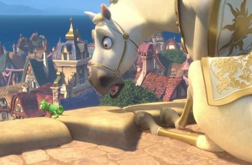 Tangled Ever After: Horse is Worried