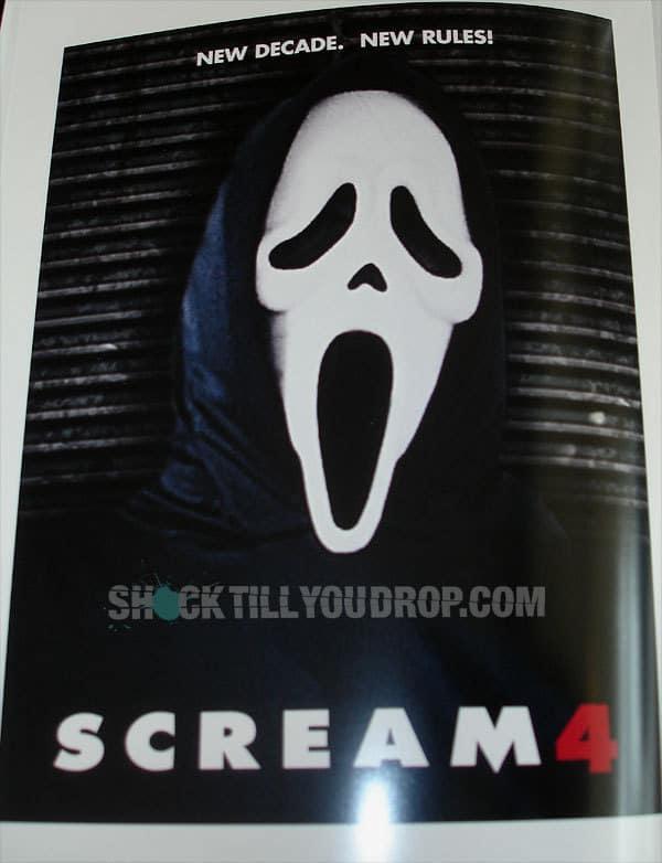 Scream 4 Official Teaser Poster