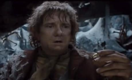 The Hobbit The Desolation of Smaug Trailer: Bilbo Finds The Ring!