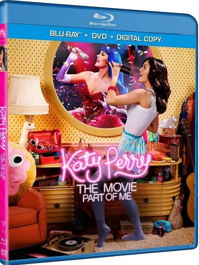 Katy Perry Part of Me Blu-Ray