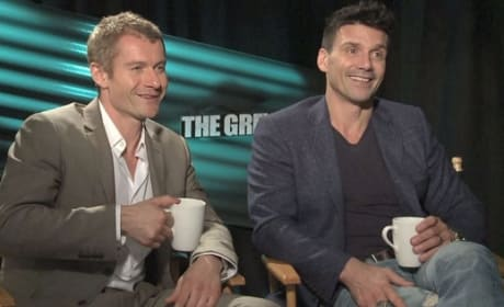 rank Grillo and James Badge Dale in The Grey