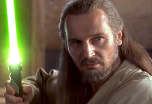 Liam Neeson as Qui-Gon Jin