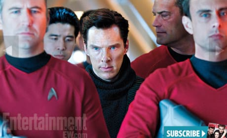 Benedict Cumberbatch Star Trek Into Darkness Still