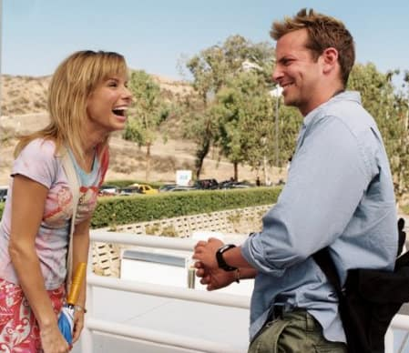Sandra Bullock and Bradley Cooper
