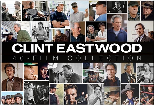 Clint Eastwood 40-Film Collection DVD