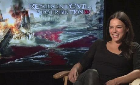 Resident Evil Retribution: Michelle Rodriguez on Which Games Need Movies