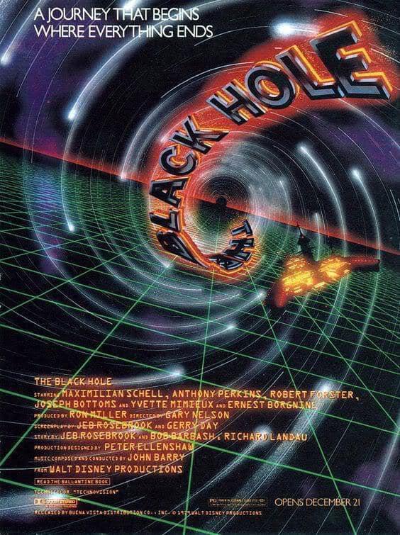 Black Hole 1979 poster