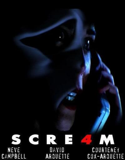 Scream 4 fan poster 2