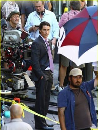 Christian Bale is Bruce Wayne