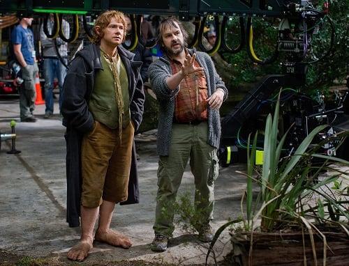 Peter Jackson Martin Freeman The Hobbit: An Unexpected Journey