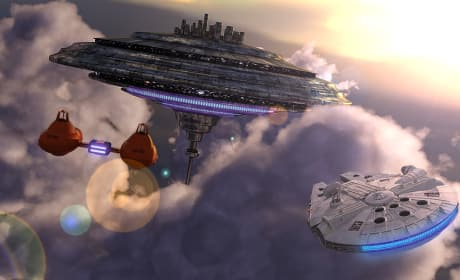 Empire Strikes Back Cloudy City
