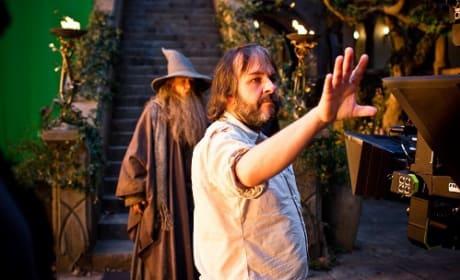 Peter Jackson Ian McKellen The Hobbit: An Unexpected Journey